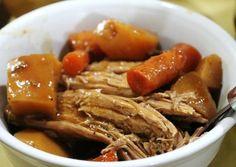 Свинина с картошкой в режиме медленной готовки