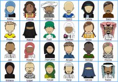 guess who muslims,qui est ce version muslim