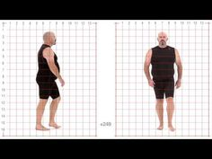 ▶ Animation Reference - Larger Male Standard Walk - Grid Overlay - YouTube