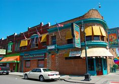 Mexican Town, Detroit neighborhood. Many excellent restaurants.