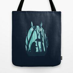 My Neighbor Totoro Tote Bag by Filiskun - $22.00