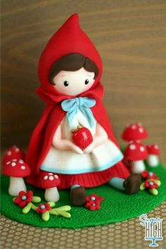 Cappuccetto rosso #polymer #clay
