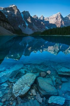 Moraine Lake (Banff, Alberta) by Perri K Schelat / 500px
