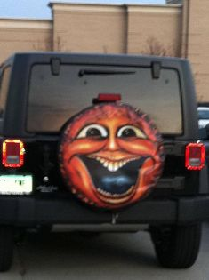 Sun Face spare tire cover custom fit to your exact tire size. Custom Tire Covers, Spare Tire Covers, Tire Size, Sun Stock, Boat Seats, Latex, Personality, Touch, Make It Yourself