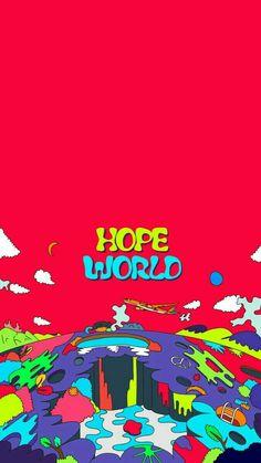 J-hope Hope World, Daydream wallpaper. on ig World Wallpaper, Cover Wallpaper, Bts Wallpaper, Jhope Mixtape, Pochette Album, Bts Drawings, Photo Wall Collage, Bts Lockscreen, Album Bts