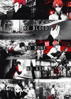 No blood, no bone, no ash ~ K project