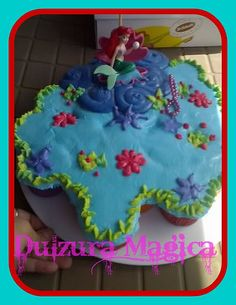 little mermaid pull apart cupcake cake