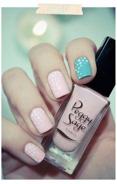 Peggy Sage – Caribbean & Opaline // De la crème glacée au bout des doigts.