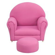 Kids Chair and Ottoman