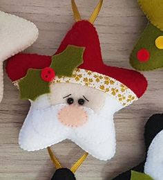 Best 12 Find out about Handmade Decorations Felt Christmas Decorations, Christmas Ornament Crafts, Christmas Sewing, Felt Ornaments, Diy Christmas Gifts, Christmas Projects, Handmade Christmas, Christmas Tree Ornaments, Holiday Crafts