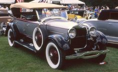 1928 Lincoln dual cowl pheaton