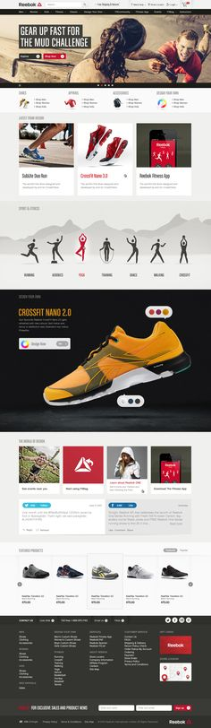 Reebok - One Destination on Behance