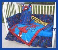 Spider Man Crib Set