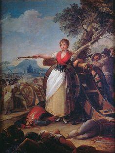 Agustina de Aragón de Goya