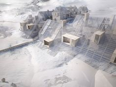 Tegnestuen Vandkunsten: New Arctic Building Practice. Designs for housing in Nuuk, Greenland produced in preparation for the Danish-Greenlandic exhibition at the 2012 Venice Architecture Biennale.