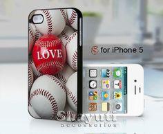 love baseball - design case for iphone 5