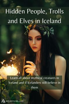 Icelandic folklore is rich with stories of these creatures and has been since the beginning of time. Many Icelanders still believe in these mystical beings. Read on to find out more about Iceland trolls, elves in Iceland, and the hidden people of Iceland! Iceland Elves, Norse Pagan, Norse Mythology, Fairy Door Accessories, Iceland Travel Tips, Green Witchcraft, Eclectic Witch, Mythical Creatures, Drawing Tips