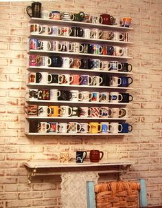 Lar Sempre Lar: Suporte para xícaras ou Porta xícaras