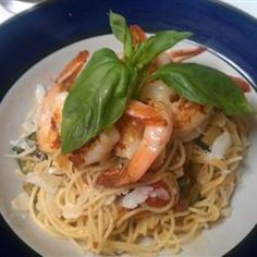 Angel Hair Pasta with Shrimp and Basil - Allrecipes.com