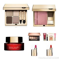 Makeup Advice Including Clarins Eyeshadow Mineral Blush Clarins Face Makeup And Clarins Eye Shadow From March 2016 #beauty #makeup