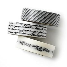 Washi tape set - oblique pencil - value pack - DIY - packaging - decorative tape - oblique pencil - vintage letter - wreath - Love My Tapes