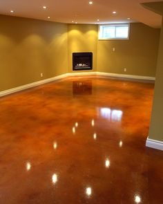 Acid Stained Floors | Acid stained concrete floors....awesome! | Home