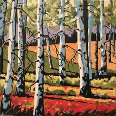 Birch Trees by Brian Buhler