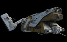 A modification from the design in The Old Republic, up-detailed from game res of course. Star Wars Spaceships, Sci Fi Spaceships, Star Wars Rpg, Star Wars Ships, Star Trek, Mandalorian Ships, Sci Fi Rpg, Starship Concept, Star Wars Design