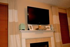 Remodelaholic   Wall Mount Your Flat Screen TV for Under $15 Dollars