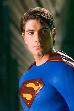 Brandon Routh as Superman. He did a fine job in the red cape.