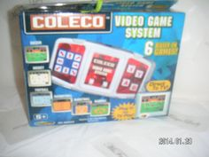 has 6 BUILT-IN GAMES:  Soccer, Hockey, Football, Racquetball, Basketball, Baseball  - PLUG IN FOR TV PLAY  - COLECO Sports TV PLUG AND&PLAY Arcade GAME [MsFrugaLady on eBay, Listing ends 2/27/2014 - technology]