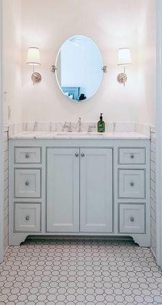 Bathroom Floor Tiling Ideas. #Bathroom #BathroomFloorIdeas #BathroomFloorTiles