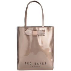 7eacc757cf Buy Ted Baker Women's Gemcon Metallic Bow Gem Icon Bag - Rose Gold here at  MyBag - the only online boutique you'll need for luxury handbags and  accessories.