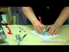 Stained Glass Supplies: How to Repair a Copper Foil Stained Glass Panel Stained Glass Supplies, Making Stained Glass, Stained Glass Lamps, Stained Glass Designs, Stained Glass Panels, Stained Glass Projects, Stained Glass Patterns, Mosaic Glass, Delphi Glass