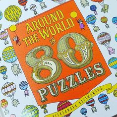Swipe for more pictures. Around the world in 80 Puzzles by Aleksandra Artymowska. Inspired by July's Verne's Novel, this beautiful puzzle book is a delight for all ages. It is packed with all kinds of transport that you can think of. Lots of puzzles, mazes and missing object hunts to get you thinking.Perfect for all ages.#TOML #childrensbooks #hernehill #puzzles #bigpicturepress #fantasticjourney #mazes #missingobjects #transport  #julesverne