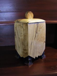 Wood Urn, Keepsake Urn, Spalted Maple Urn, One Of A Kind, Funeral Keepsake by TheCarvedEdge on Etsy Woodworking Bar Clamps, Woodworking Software, Woodworking Tools For Sale, Woodworking Projects, Woodworking Plans, Keepsake Urns, Wooden Keepsake Box, Keepsake Boxes, Cremation Boxes