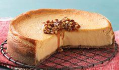 maple pecan cheesecake