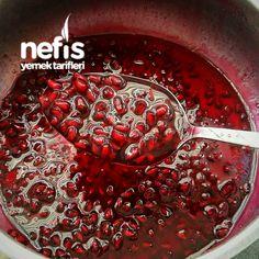 Muhteşem Nar Reçeli (Tam Ölçülü) Köstliche Desserts, Delicious Desserts, Dessert Recipes, Yummy Food, Pomegranate Jam, Turkish Recipes, Healthy Eating Tips, Food Presentation, Food And Drink