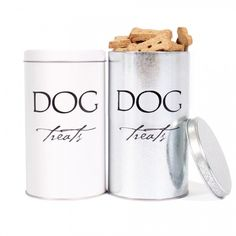Classic Dog Treat Tin with Treats - Harry Barker