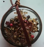 Steampunk Christmas Ornament Bauble by starbuckwhalerider