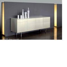 "All+Modern: Bontempi Casa Aly Cabinet Storage Unit. Overall Dimensions: 28.3"" H x 20.5"" W x 70.9"" D. Price: $3603."
