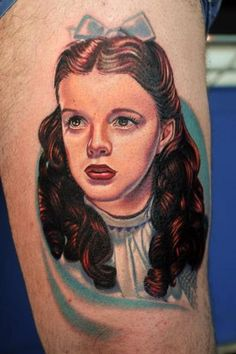 Dorothy Wizard of Oz Tattoo by Nikko Hurtado
