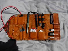 Elmore's Handmade Leathers and More: Everyday Carry (EDC) Leather Organizers