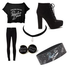"""""""Panic at the disco"""" by kyleigh-rodgers ❤ liked on Polyvore featuring Frame Denim"""