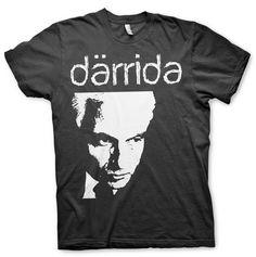 Därrida / Jacques Derrida Shirt DIY Theory Deconstructivism