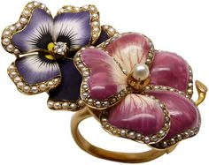 Eliane Fattal for S.J. Phillips 'Think of Me' Ring
