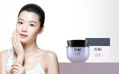 HANYUL SeoRiTae Firming Sleeping Pack CF Model Jun Ji-hyun renewed their product #AMOREPACIFICHANYUL