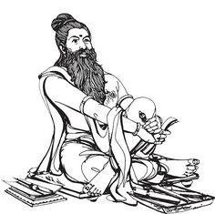 Cartoon Drawings, Cute Drawings, Happy New Year Greetings, Indian Art Paintings, Durga Goddess, Elephant Tattoos, Anatomy Art, Letter Art, Ancient Art