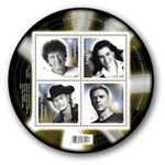 Canada Posts Stompin' Tom stamp was released in Stamps honour four of Canada's musical icons Canada Post, Musicals, Stamps, Icons, Posts, History, Learning, Seals, Messages