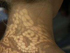 Lace shadow by myrika, via Flickr